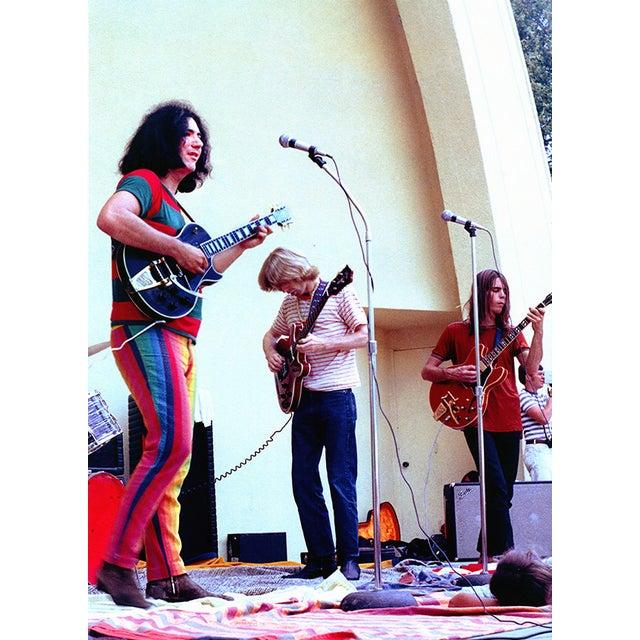 Original Jerry Garcia Grateful Dead Photograph - Image 2 of 2