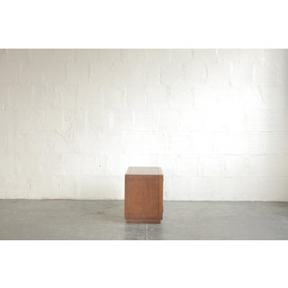 Mid-Century Modern Walnut Side Table and Cabinet Preview