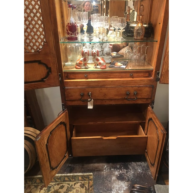 Brown Traditional Sarried Marbella Cabinet For Sale - Image 8 of 12