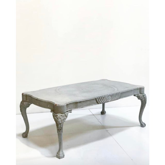 vintage shabby chic french style coffee table