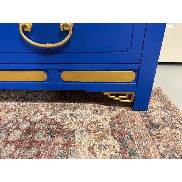 White Furniture Cobalt Nine Drawer Dresser For Sale - Image 4 of 11