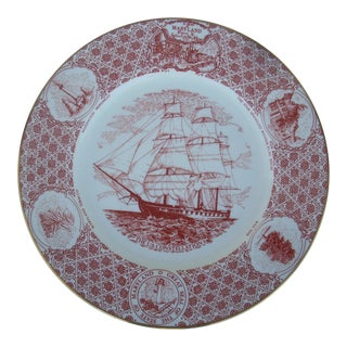 Stieff Co. by Coalport Decorative Plate For Sale