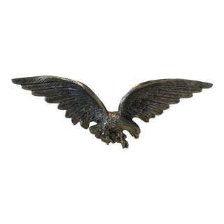 Federal Brass Eagle Wall Hanging For Sale