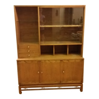 1950s American of Martinsville Asian Style Cabinet For Sale