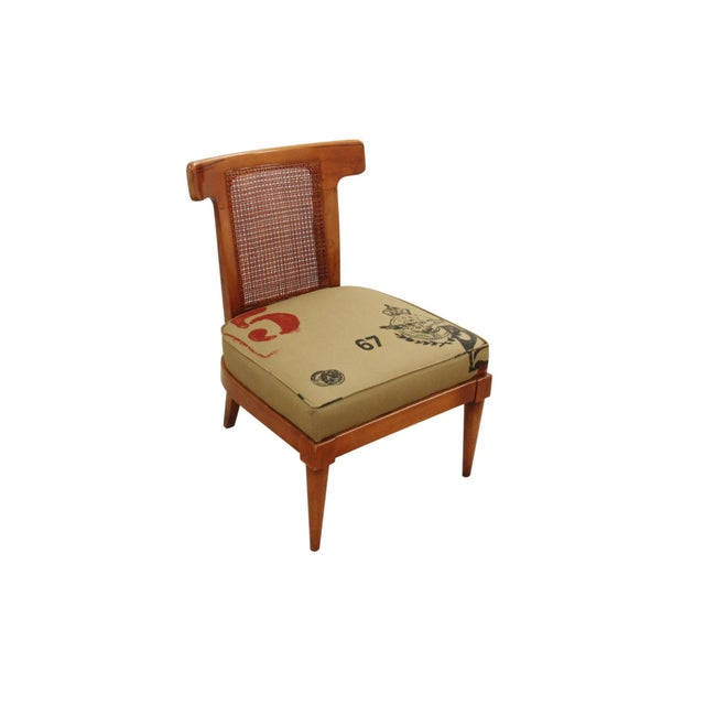 Wood 1960s Vintage American of Martinsville Campaign Chair For Sale - Image 7 of 7