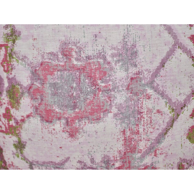Feather TylerGraphic Hand Blocked Square Down/Feather Pillow For Sale - Image 7 of 10