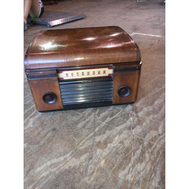 1940's Rca Victor Victrola Radio Record Player - Image 3 of 11