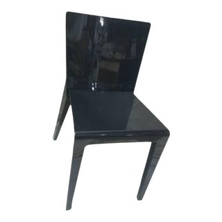 Hannes Wettstein 2001 Black Molteni & Co Alfa Chair For Sale