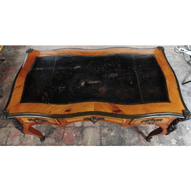 Antique Louis XV 19th Century Writing Desk - Image 2 of 8