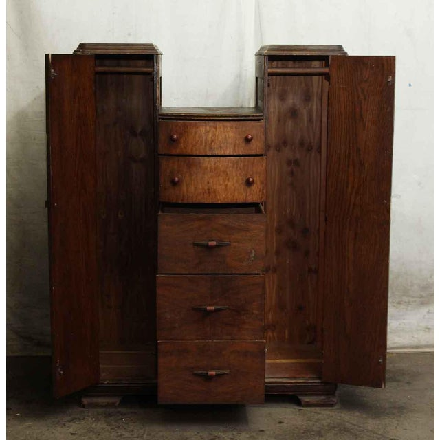 Art Deco Wood Dresser - Image 6 of 9