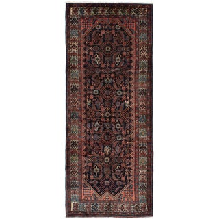 "Vintage Persian Rug, 3'10"" x 10'0"" feet"