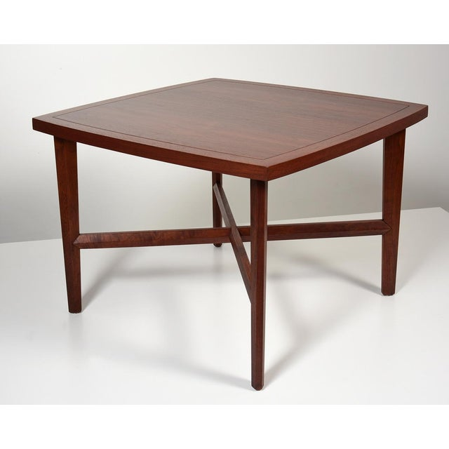 George Nakashima Origins Coffee or Side Table for Widdicomb USA, 1950s Original label and marking to underneath