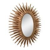 Image of Made Goods Sunburst Donatello Mirror For Sale