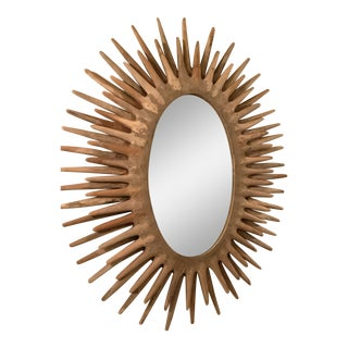 Made Goods Sunburst Donatello Mirror For Sale