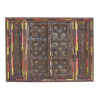 Antique Haveli Carved Window