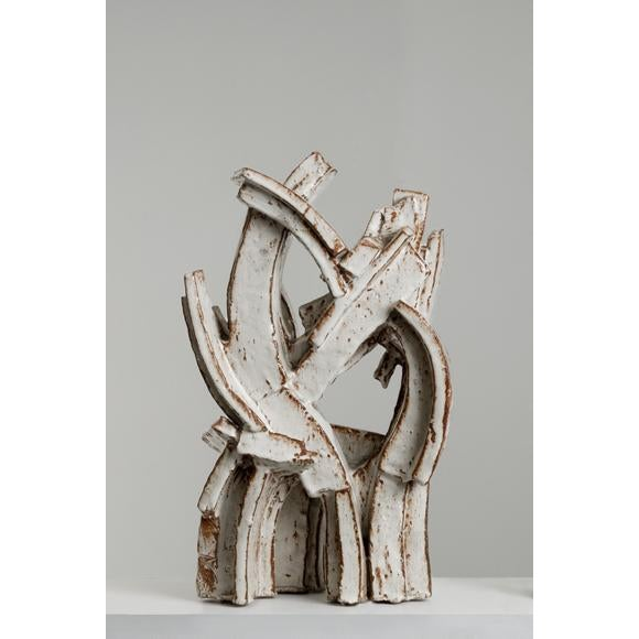 Abstract Hertha Hillfon (Swedish, 1921–2013) Ceramic Sculpture, Ca. 1965 For Sale - Image 3 of 3