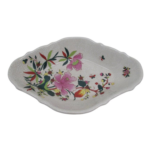 Chinese Export Ceramic Catchall Decorative Dish For Sale