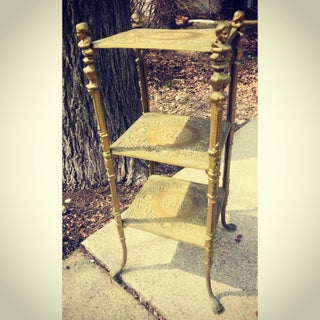 Vintage Brass Moroccan Dessert Table Preview