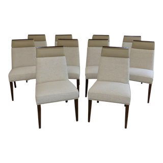 Vanguard Michael Weiss Brighton Dining Chairs- Set of 10 (Or Set of 4, 6 or 8) For Sale
