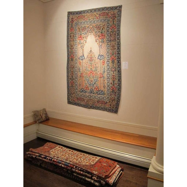 Traditional 18th Century Ottoman Applique For Sale - Image 3 of 7