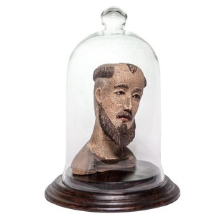19th Century Italian St. Francis of Assisi Bust For Sale