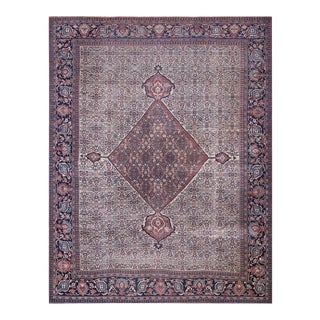 Antique Persian Mood Rug For Sale