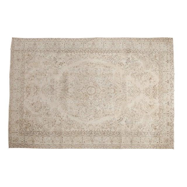"Vintage Oushak Carpet - 6'10"" x 10'2"" - Image 12 of 12"