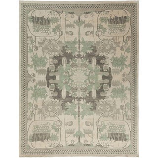 """Shalimar, Hand Knotted Area Rug - 9' 1"""" x 11' 9"""" For Sale"""
