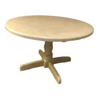 Lettuce Green Round Farm Table For Sale
