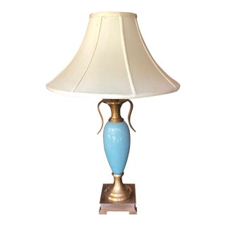 1990s Art deco Champion Cup Style Table Lamp