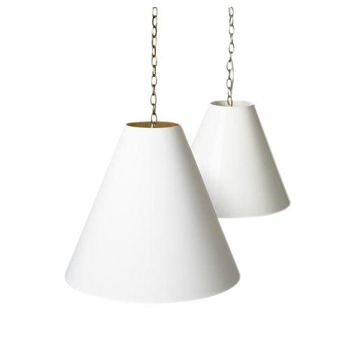 Barbara Cosgrove Cone Shade Pendant Lighting For Sale