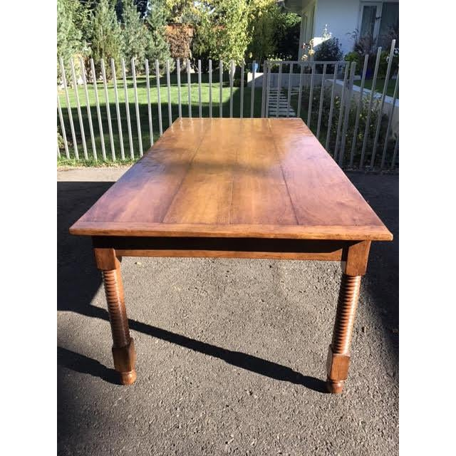 Wood Rose Tarlow Tuscany Table/Desk For Sale - Image 7 of 7