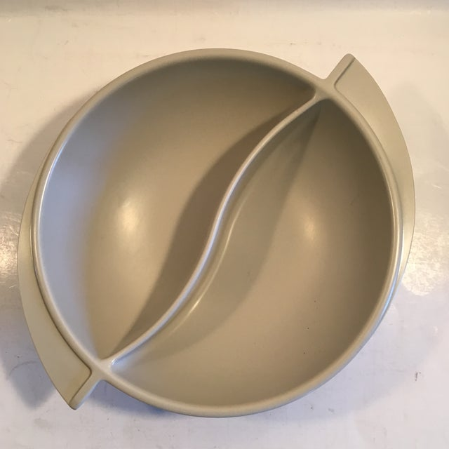 Vintage Boonton Melmac Divided Dish - Image 4 of 6