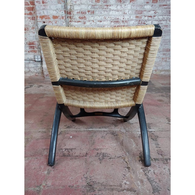 Fantastic Vintage Hans Wegner Woven Rope Folding Chair Caraccident5 Cool Chair Designs And Ideas Caraccident5Info