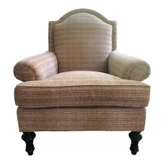 Hickory White Kravet Couture Chenille Fabric Chair For Sale