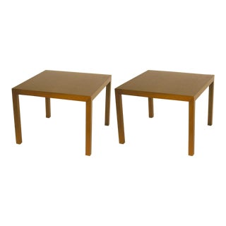 Edward Wormley for Dunbar Parsons Lamp Tables - a Pair For Sale