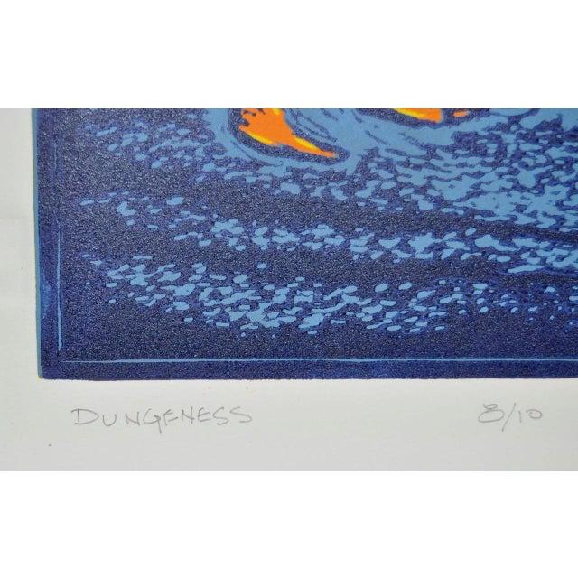 """Circa 2003 Arnold Grossman """"Dungeness"""" Silkscreen - Image 4 of 7"""