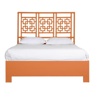Palm Springs Bed Queen - Orange For Sale
