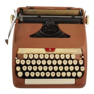 Rejuvenated Smith Corona Golden Shield Typewriter For Sale
