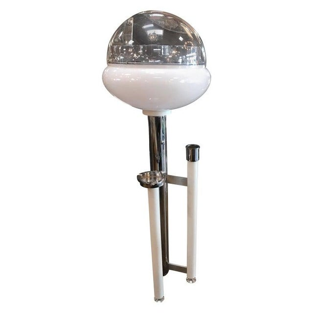 Space Age Floor Lamp With Ashtray, Italy, 1960s For Sale - Image 13 of 13