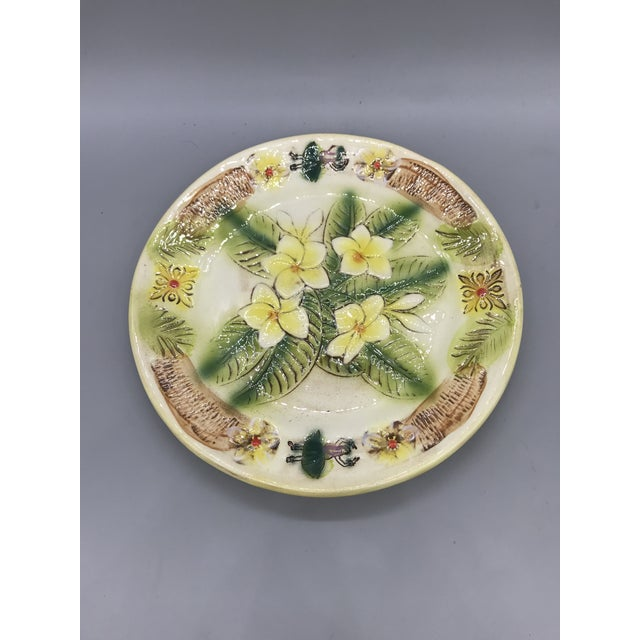 Vintage Kani of Hawaii Pottery Pie Plate For Sale - Image 11 of 11