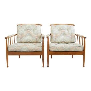 1960s Vintage Kerstin Hörlin-Holmquist Skrindan Chairs- A Pair For Sale