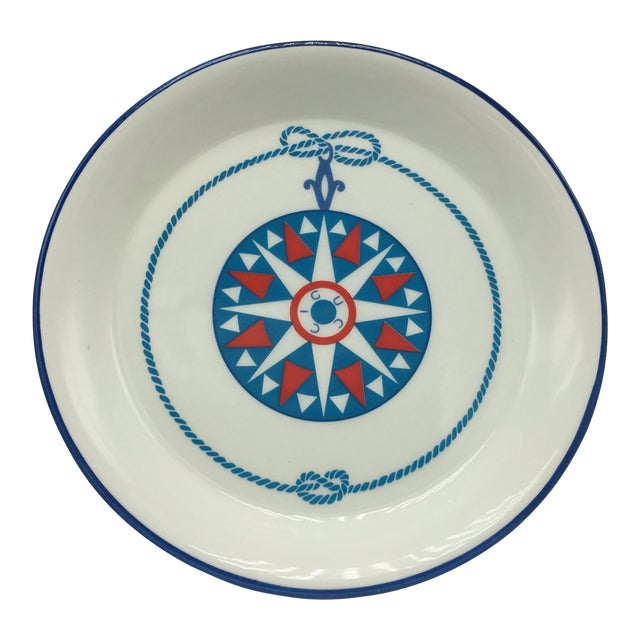 Gucci Porcelain Nautical Trinket Dish For Sale