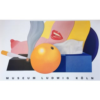 Tom Wesselmann 1992 Exhibition Poster For Sale