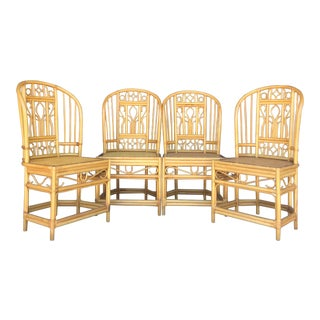Vintage Brighton Style Dining Chairs- Set of 4