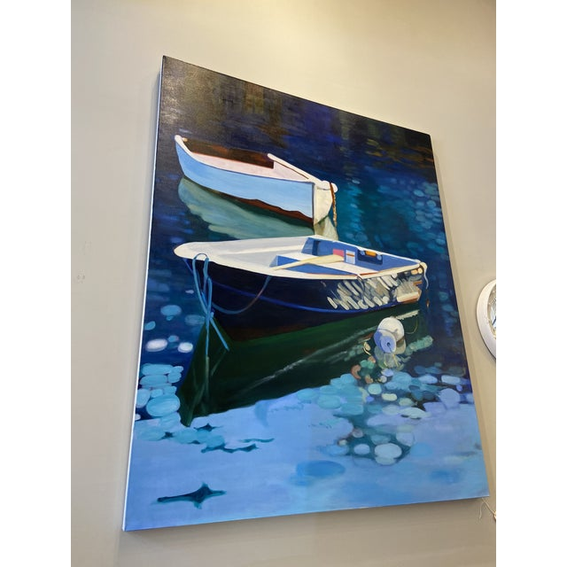 2020s Contemporary Nautical Oil Painting by Andrea Guay For Sale - Image 5 of 7