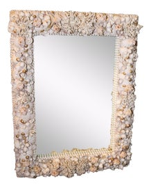 Image of Antique White Mirrors