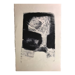 Modern Abstract Lithograph Bay Area Artist Jerry Opper For Sale