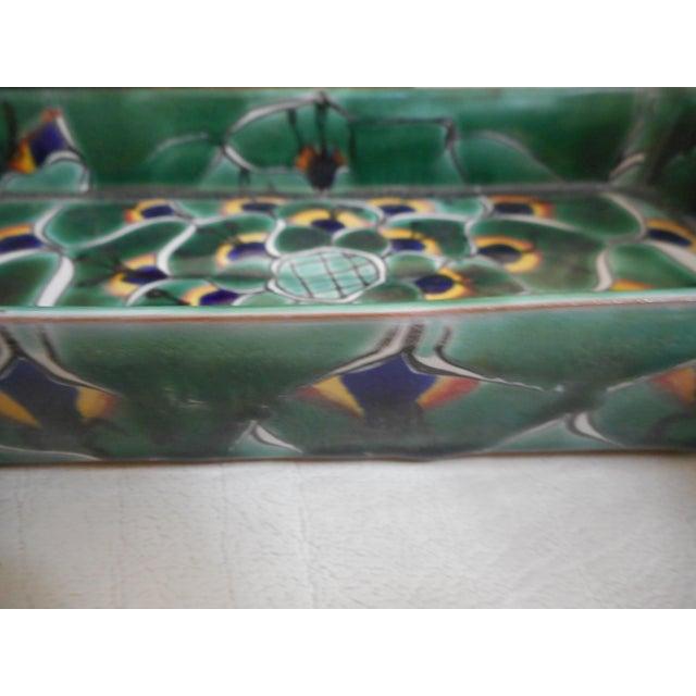 Decorative Mexican Ceramic Dish - Image 3 of 4