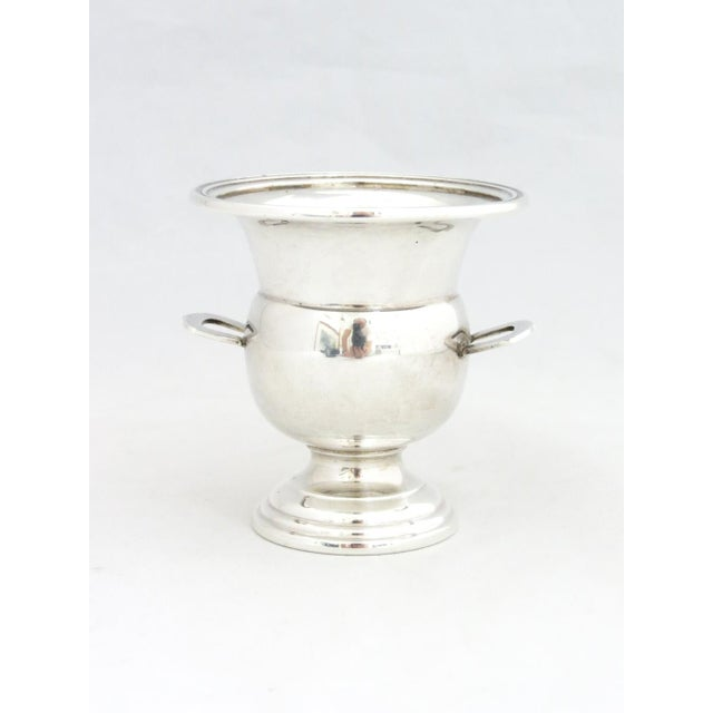 Metal Dunkirk Silversmith Sterling Champagne Bucket Toothpick Holder For Sale - Image 7 of 7